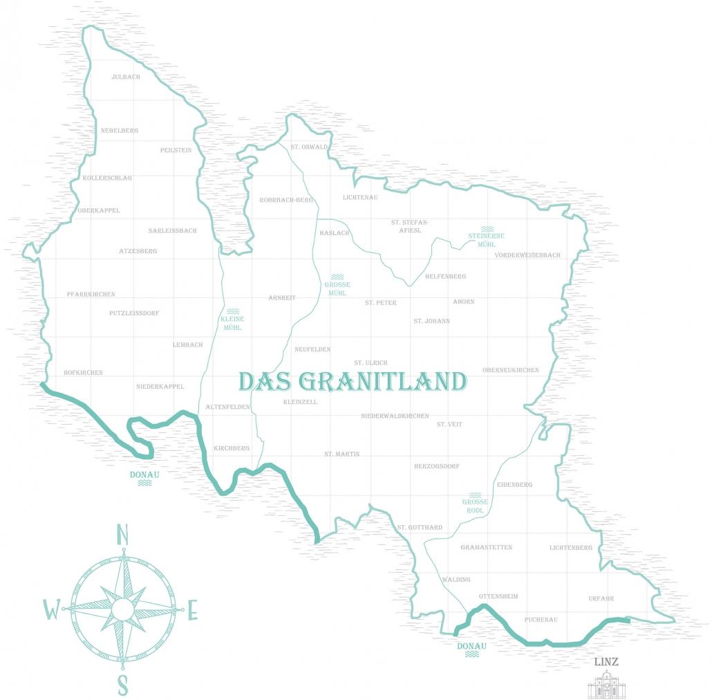 Granitland Gesamtkarte